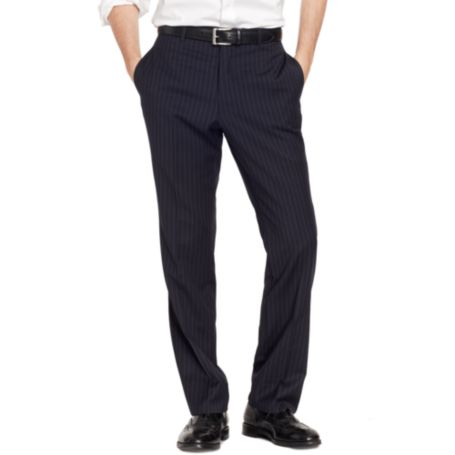 Image for NAVY PIN STRIPE PANT from Tommy Hilfiger USA