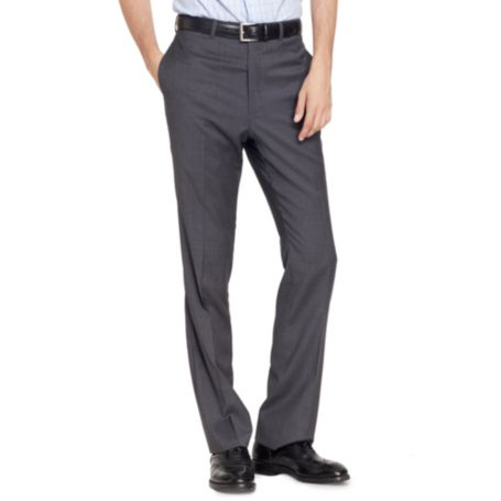 Image for CHARCOAL SLIM STRIPE PANT from Tommy Hilfiger USA