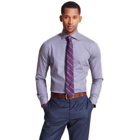 Image for STRIPE DRESS SHIRT from Tommy Hilfiger USA