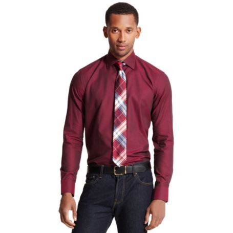 Image for DRESS SHIRT from Tommy Hilfiger USA