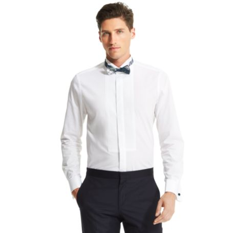 Image for SLIM FIT FRONT TUXEDO SHIRT from Tommy Hilfiger USA
