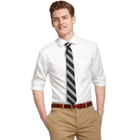 Image for SOLID DRESS SHIRT from Tommy Hilfiger USA