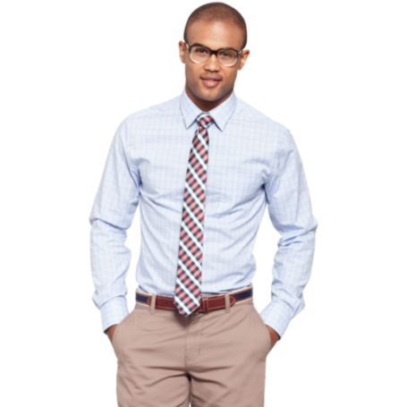 Image for CHECK DRESS SHIRT from Tommy Hilfiger USA
