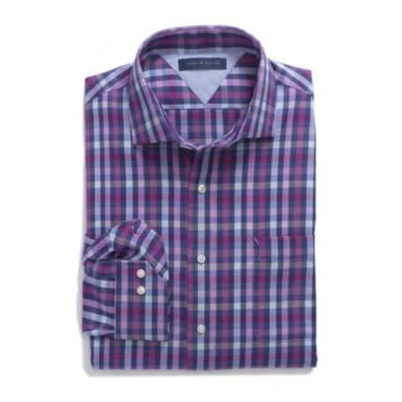 Image for MULTI CHECK DRESS SHIRT from Tommy Hilfiger USA