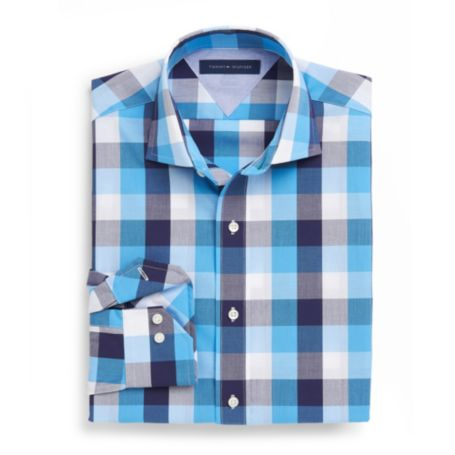 Image for WRINKLE-RESISTANT CHECK DRESS SHIRT from Tommy Hilfiger USA
