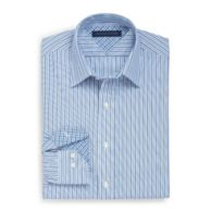 WRINKLE-RESISTANT STRIPED DRESS SHIRT $39.99