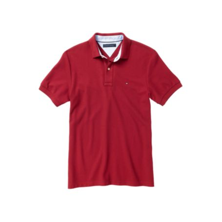 Image for CUSTOM FIT TOMMY KNIT POLO from Tommy Hilfiger USA