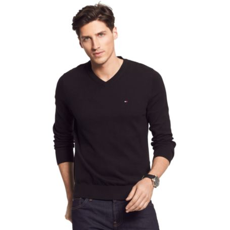 Image for PACIFIC V-NECK SWEATER from Tommy Hilfiger USA