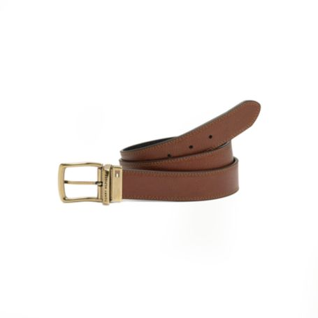 Image for OSCAR PEBBLE REVERSIBLE BELT from Tommy Hilfiger USA