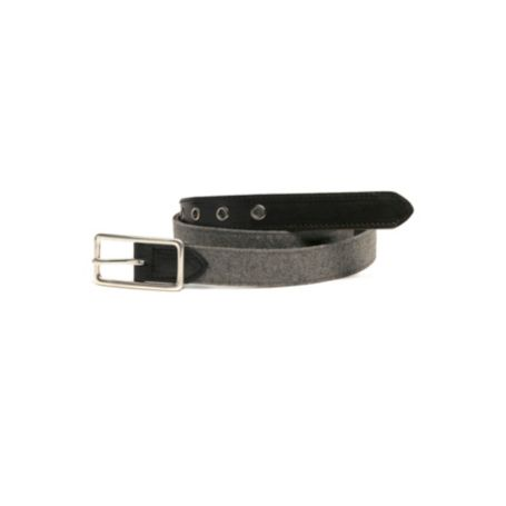 Image for WOOL BELT WITH LEATHER TABS from Tommy Hilfiger USA