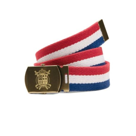Image for STRIPE MILITARY PLAQUE BELT from Tommy Hilfiger USA