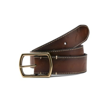 Image for EMBOSSED FISH LEATHER BELT from Tommy Hilfiger USA