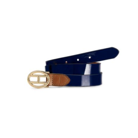 Image for 26MM PATENT LEATHER BELT from Tommy Hilfiger USA