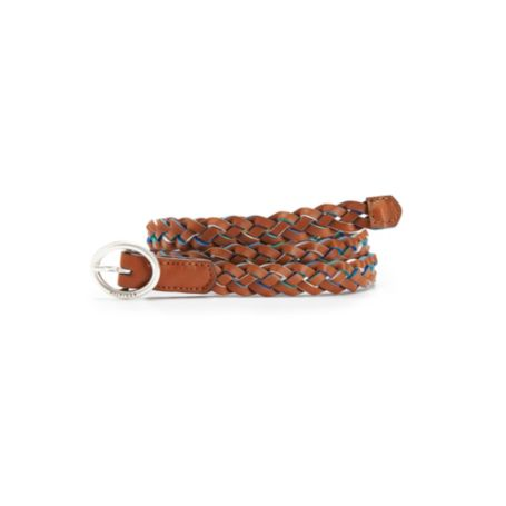 Image for BRAIDED LEATHER BELT from Tommy Hilfiger USA
