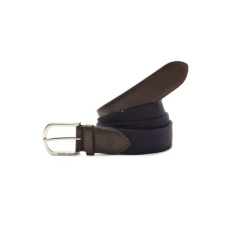 Image for SOLID STRETCH FABRIC BELT from Tommy Hilfiger USA