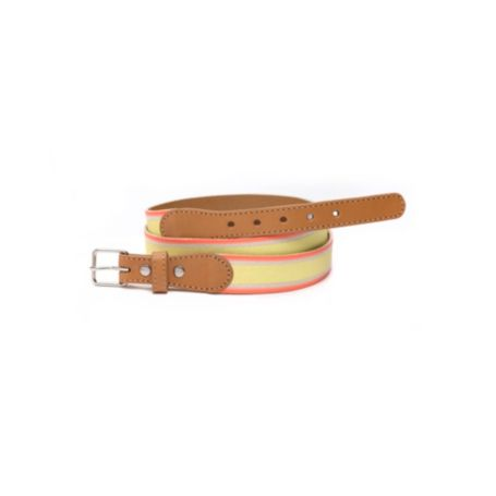 Image for STRIPED CANVAS BELT from Tommy Hilfiger USA