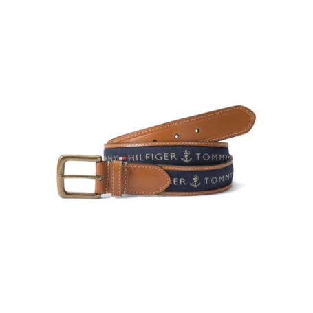 Image for WOVEN RIBBON BELT from Tommy Hilfiger USA
