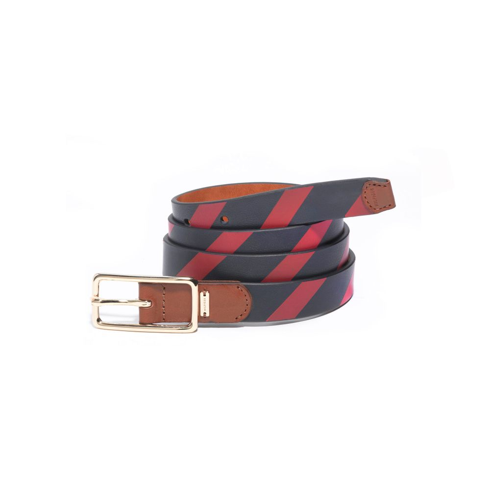 Image for 25MM SCREEN PRINTED STRIPE BELT from Tommy Hilfiger USA