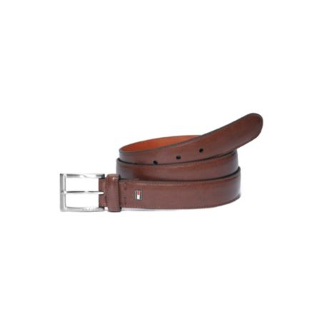 Image for DRESS BELT WITH BRUSHED NICKLE from Tommy Hilfiger USA