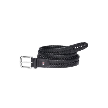 Image for LEATHER BRAIDED DRESS BELT from Tommy Hilfiger USA
