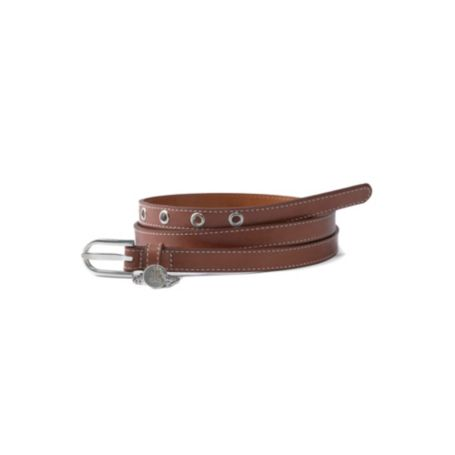 Image for LEATHER MONOGRAM LOGO BELT from Tommy Hilfiger USA