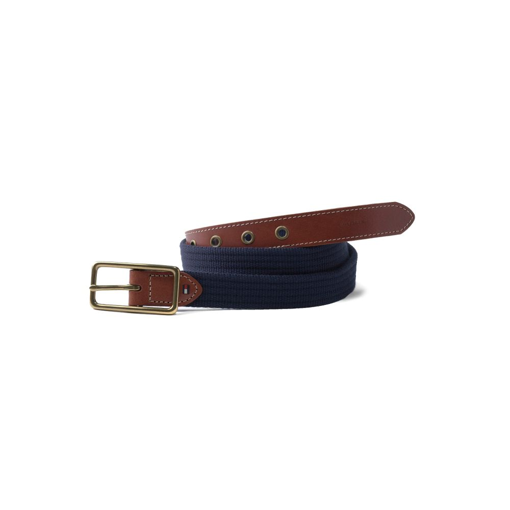 Image for RIBBED WEB BELT from Tommy Hilfiger USA