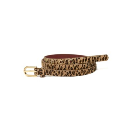 Image for LEOPARD H LOGO BELT from Tommy Hilfiger USA