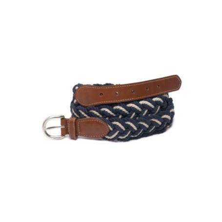 Image for NAVY TAPPERED BELT from Tommy Hilfiger USA