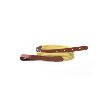 Image for YELLOW LEATHER LOOP BELT from Tommy Hilfiger USA