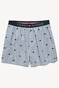 Tommy hilfiger Turtle Print Woven Boxer