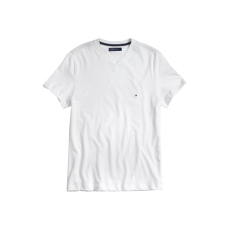 Image for SLIM FIT SOLID V NECK TEE from Tommy Hilfiger USA