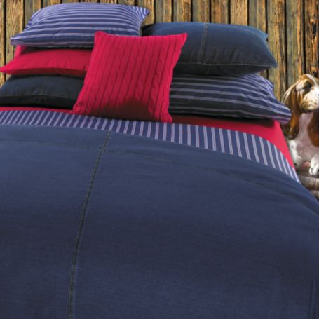 Image for ALL AMERICAN DENIM COMFORTER from Tommy Hilfiger USA