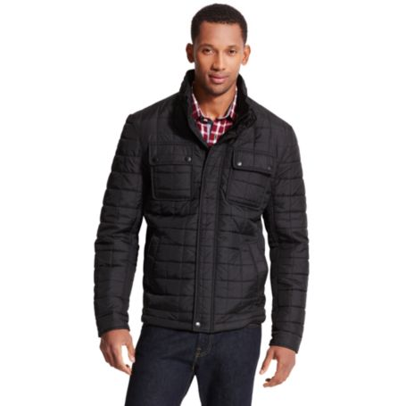 Image for 2 POCKET MINI QUILTED JACKET from Tommy Hilfiger USA