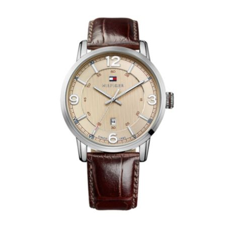 Image for CROC EMBOSSED WATCH from Tommy Hilfiger USA