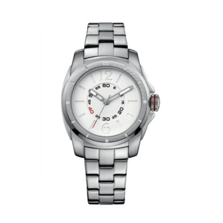 Image for STAINLESS STEEL BRACELET WATCH WITH DOUBLE LAYER DIAL from Tommy Hilfiger USA