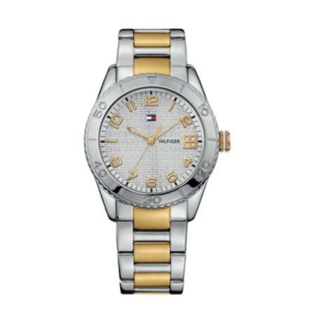 Image for TWO TONE BRACELET WATCH from Tommy Hilfiger USA