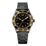 BLACK SILICON STRAP WATCH $89.99