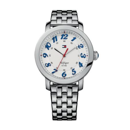 Image for CLASSIC SILVER BRACELET WATCH from Tommy Hilfiger USA