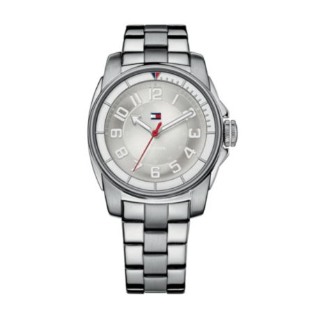 Image for STAINLESS STEEL GOLD PLATED BRACELET WATCH from Tommy Hilfiger USA
