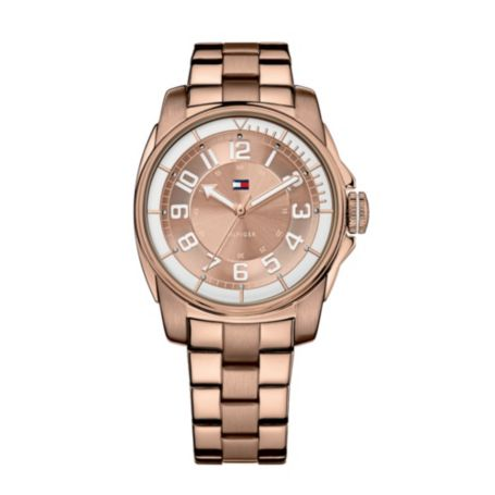 Image for ROSE GOLD PLATED BRACELET WATCH from Tommy Hilfiger USA