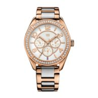 TWO TONED ROSE GOLD BRACELET WATCH $185.00