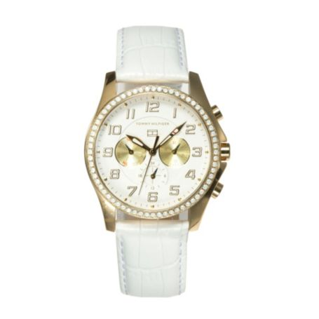 Image for WHITE OPAL WATCH from Tommy Hilfiger USA