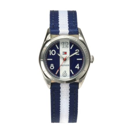 Image for BLUE & WHITE STRAP WATCH from Tommy Hilfiger USA