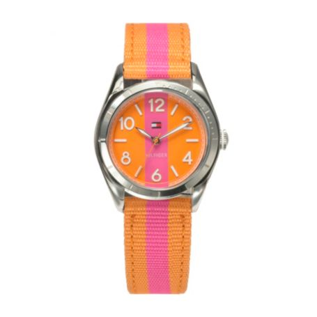 Image for PINK & ORANGE STRAP WATCH from Tommy Hilfiger USA