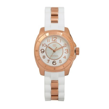 Image for ROSE GOLD WHITE WATCH from Tommy Hilfiger USA