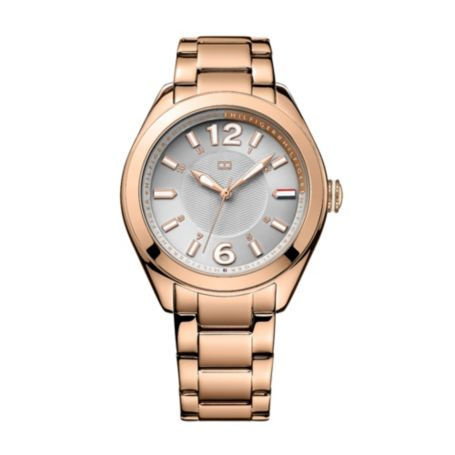 Image for ROSE GOLD WITH GREY FACE BRACELET WATCH from Tommy Hilfiger USA