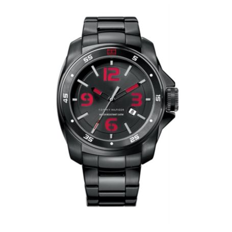 Image for BLACK ON BLACK BRACELET WATCH from Tommy Hilfiger USA