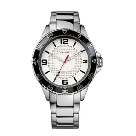Image for SILVER LINK WATCH from Tommy Hilfiger USA