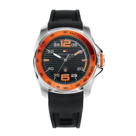 Image for BLACK STRAP SPORTS WATCH from Tommy Hilfiger USA