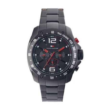 Image for MENS GREY LINK SPORTSWATCH from Tommy Hilfiger USA